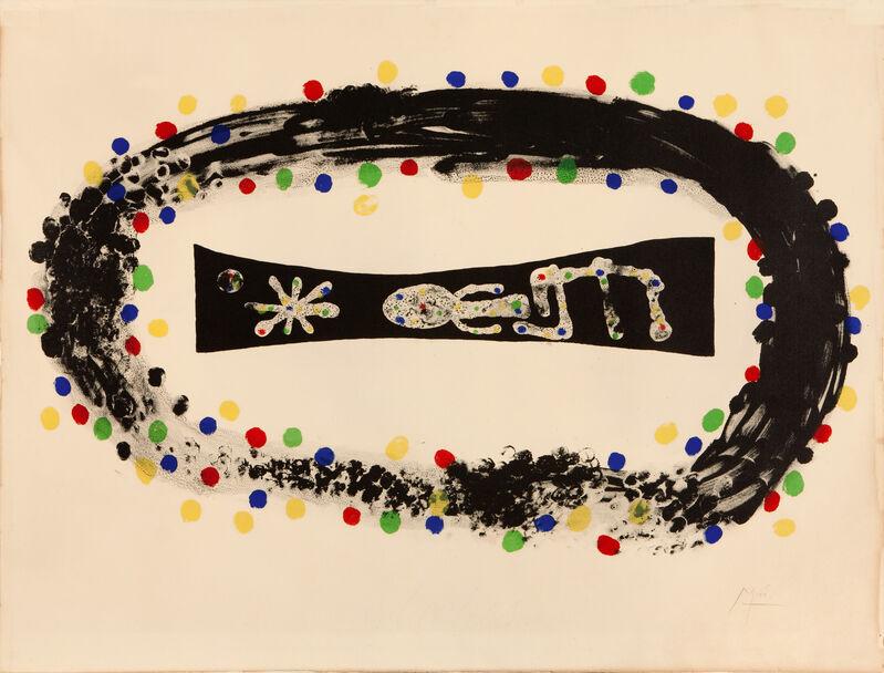 Joan Miró, 'NEBULOSA', 1958, Print, Coloured lithograph, Studio Guastalla