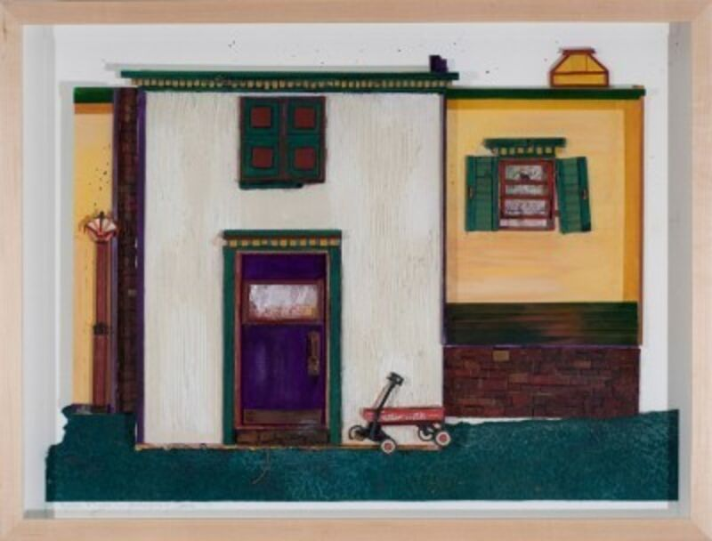 Katharine Owens, 'Radio Flyer', Drawing, Collage or other Work on Paper, Zenith Gallery