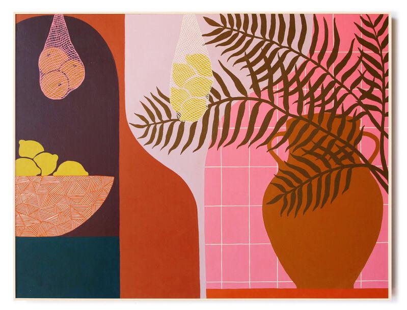 Carmen McNall, 'Sanctuary 19', 2021, Painting, Acrylic on hand carved wood panel., Uprise Art