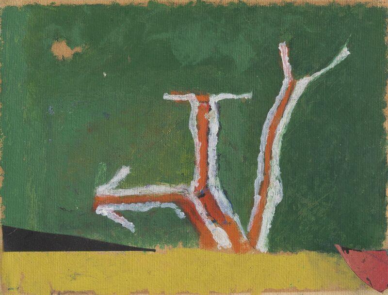 Osvaldo Licini, 'Alba', 1955, Painting, Oil on canvas, Repetto Gallery