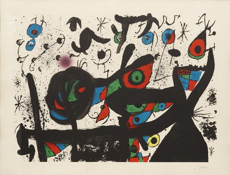 Joan Miró, 'Homenatge a Joan Prats', 1971, Print, Lithograph on paper, Art Perspective