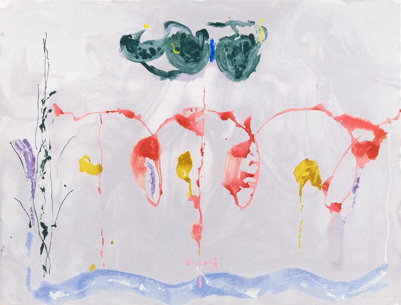 Helen Frankenthaler, 'Aerie', 2009, Print, Screenprint, Christopher-Clark Fine Art