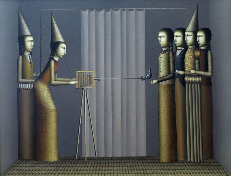 """Armen Gevorgian, '""""Photographer"""" / """"Fotoğrafçı""""', 2012, Painting, Oil on canvas, Galeri 77"""