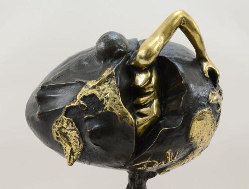 Salvador Dalí, 'Birth of a New Human', ca. 1970, Sculpture, Bronze, Leviton Fine Art
