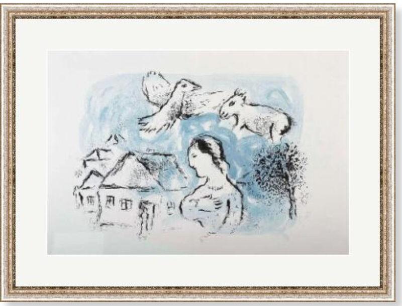 Marc Chagall, 'Le Village', 1977, Print, Velum paper, Modern-Originals