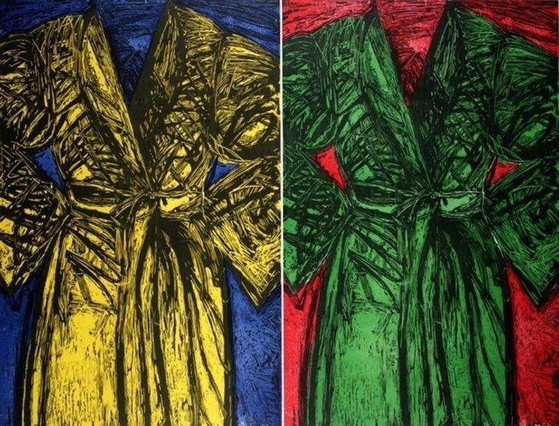 Jim Dine, 'The Kindergarten Robes', 1983, Print, Woodcut, Puccio Fine Art