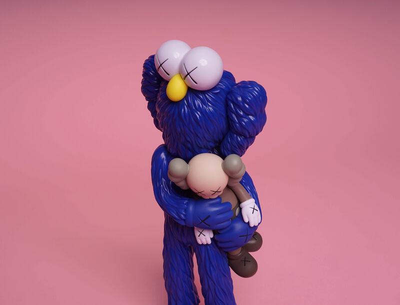 KAWS, 'TAKE, KAWSONE OPEN EDITION (BLUE)', 2020, Sculpture, Vinyl, Arton Contemporary