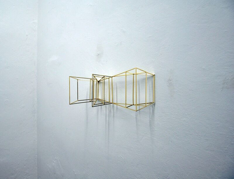 Paolo Cavinato, 'Wing', 2016, Sculpture, Chrome plated brass, The Flat - Massimo Carasi