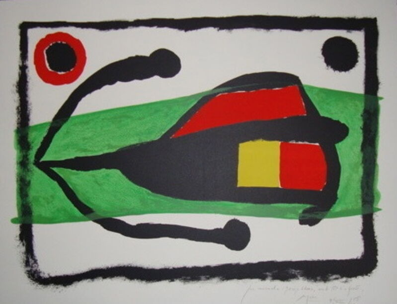 Joan Miró, 'Altamira', 1958, Print, Lithograph, printed in color on Arches paper, Isselbacher Gallery
