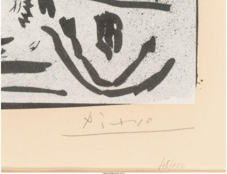 Pablo Picasso, 'Notre Dame de vie', 1966, Print, Linocut on Arches paper, Heritage Auctions
