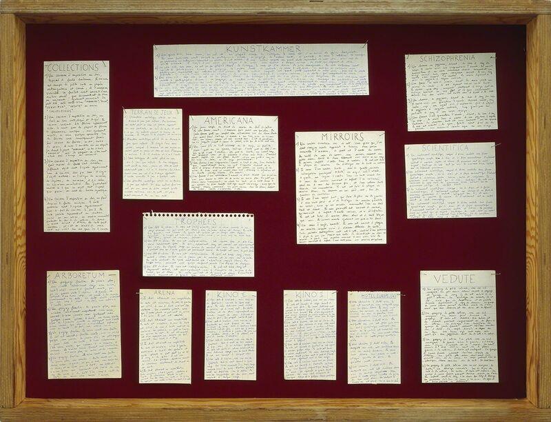Nicolas Grospierre, 'Collection of descriptions', 2009, Photography, Lambda print mounted on plexiglass, Alarcón Criado