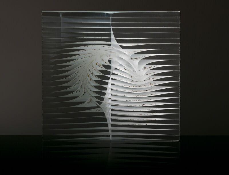 Peter Borkovics, 'Leonardo', 2015, Sculpture, Layered, fused, hot formed, and polished glass, Avran Fine Art