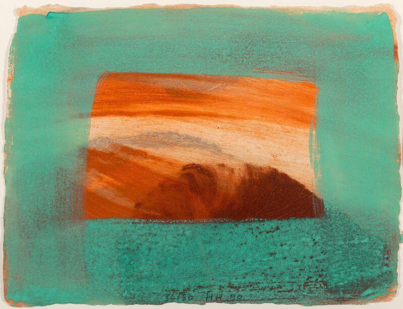 Howard Hodgkin, 'After Degas', 1990, Print, Intaglio with carborundum in colors on Larroque et Pombie wove paper, Heritage Auctions