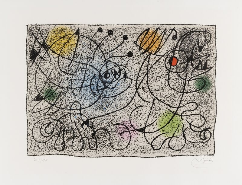 Joan Miró, 'Lithographie pour le International Rescue Committee (Mourlot 391)', 1966, Print, Lithograph printed in colours, Forum Auctions