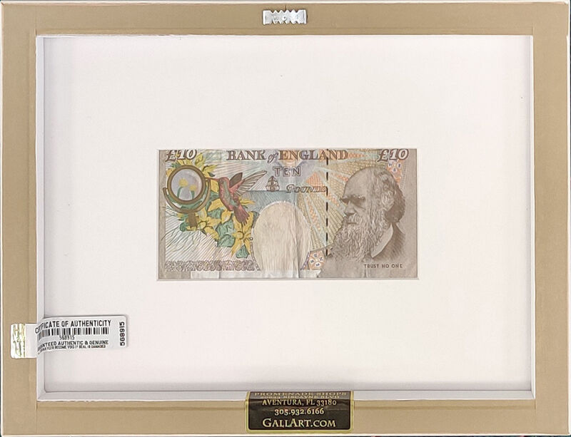 Banksy, 'Di-faced Tenner (10 Gbp Note)', 2004, Ephemera or Merchandise, Offset lithograph, Gallery Art Gallery Auction