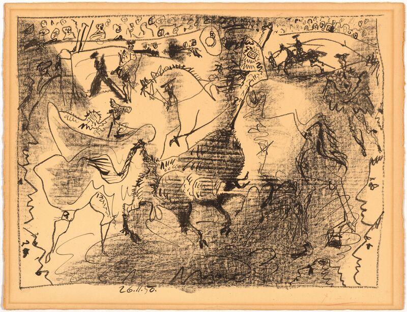 Pablo Picasso, 'La Pique', 1950, Print, Lithograph, Koller Auctions