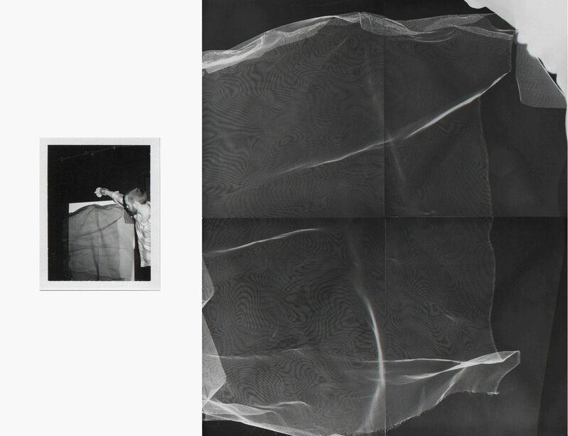 Bryan Graf, 'Shot/Reverse Shot 1', 2013, Photography, Polaroid + Photogram, Yancey Richardson Gallery