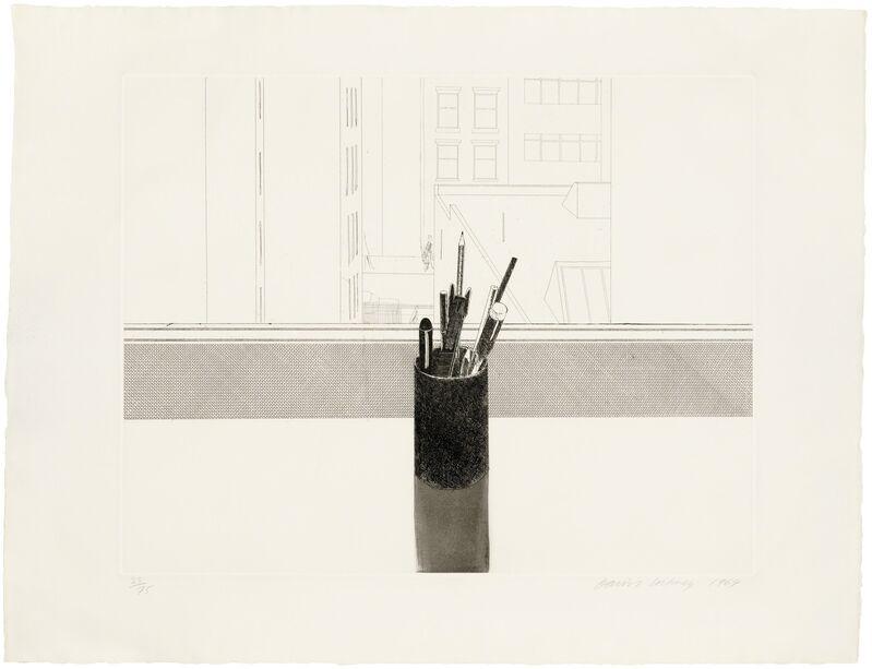 David Hockney, 'Still Life', 1969, Print, Etching and aquatint on wove paper, Christie's