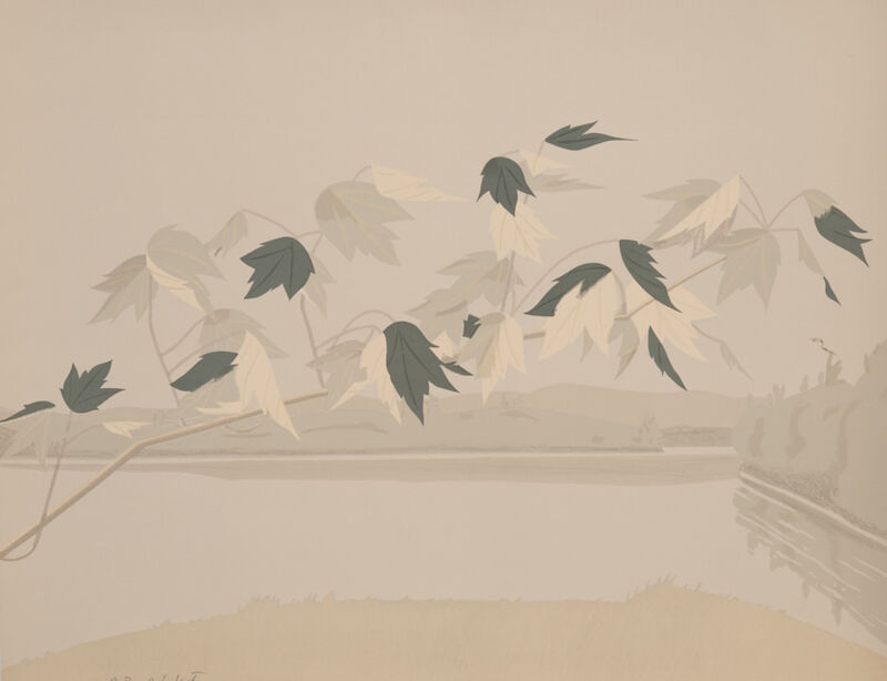 Alex Katz, 'Late July II', 1971, Print, Lithograph, Capsule Gallery Auction