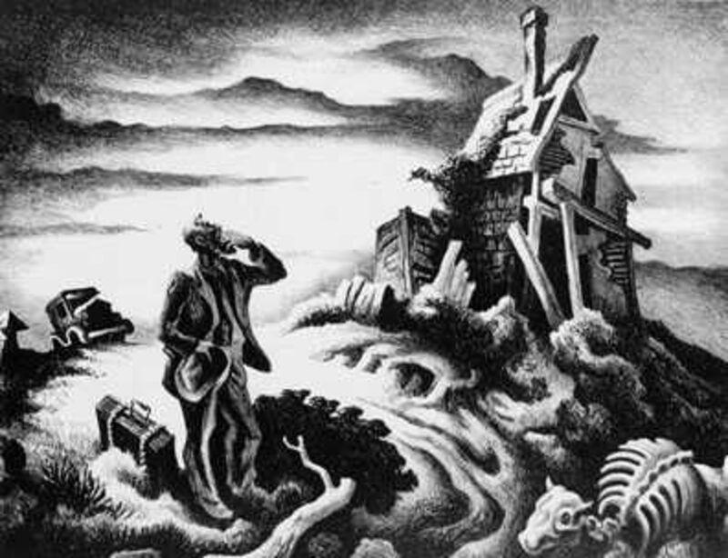 Thomas Hart Benton, 'Prodigal Son', 1939, Print, Lithograph, Kiechel Fine Art
