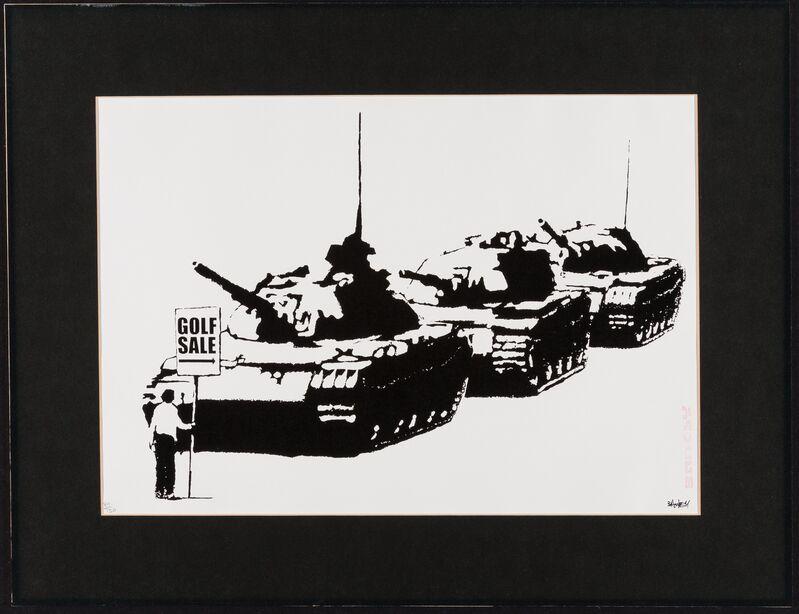 Banksy, 'Golf Sale', 2003, Print, Screenprint on wove paper, Heritage Auctions