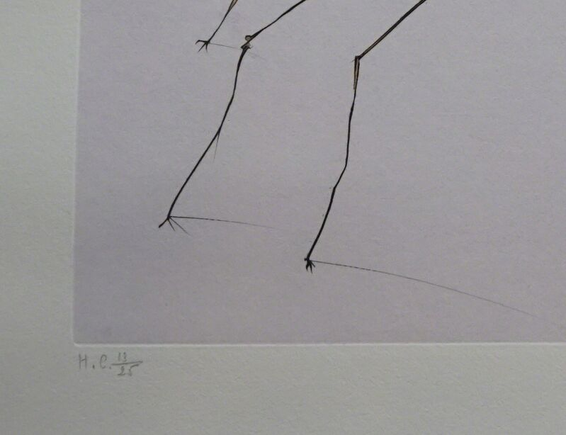 Salvador Dalí, 'Japanese Fairy Tale The Weaver Spider', 1976, Print, Etching, Fine Art Acquisitions Dali