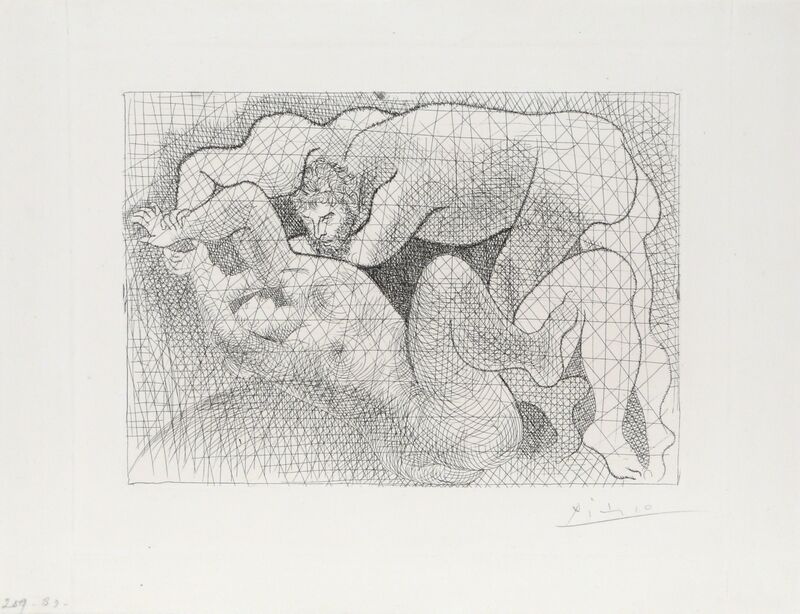 Pablo Picasso, 'Le Viol from Suite Vollard', 1931, Print, Etching on Laid Paper, RoGallery