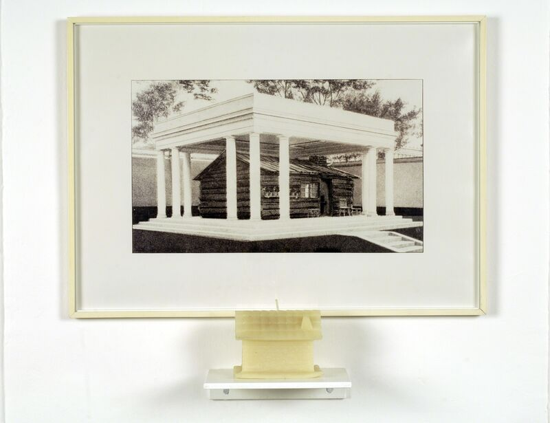 Antoni Muntadas, 'House/Home', 1990, Photography, Photography framed with candle, Galerie Gabrielle Maubrie