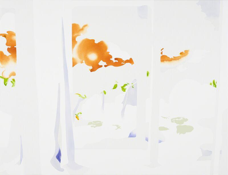 Masumi Nakaoka, 'slit, rhythm', 2014, Painting, Acrylic and oil paint on canvas, Art Front Gallery