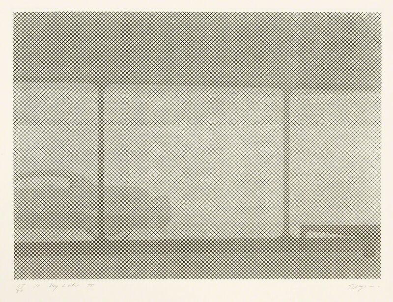 William Tillyer, 'Dry Lake II', 1971, Print, Etching, Sworders