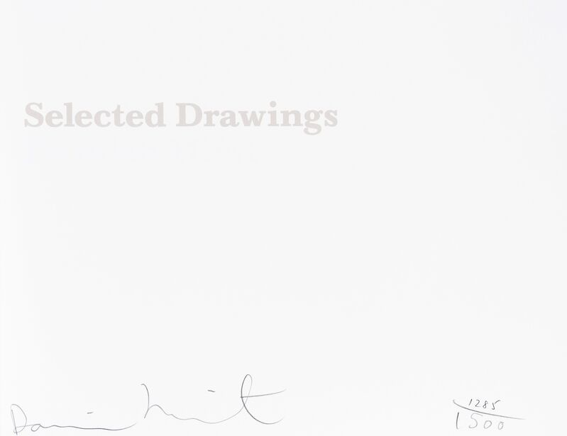 Damien Hirst, 'From the Cradle to the Grave: Selected drawings', 2004, Books and Portfolios, Delux book, Forum Auctions