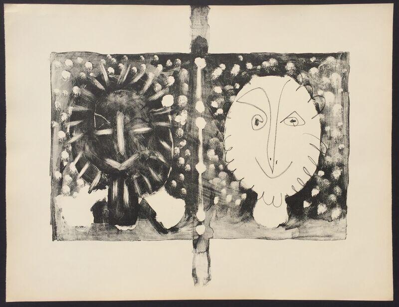 Pablo Picasso, 'Couverture Mourlot I (B. 591)', 1949, Print, Lithograph, Denis Bloch Fine Art