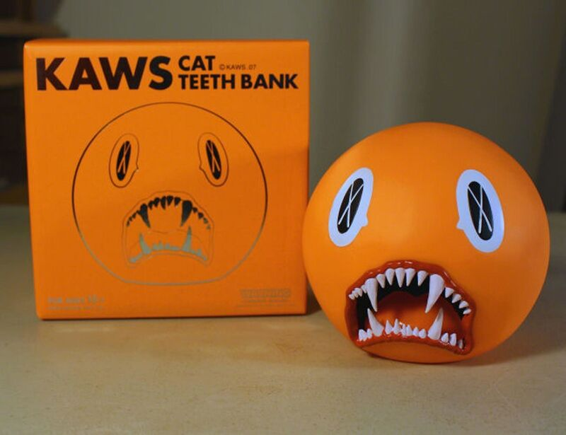 KAWS, 'Cat Teeth Bank', 2007, Sculpture, Painted cast vinyl, EHC Fine Art Gallery Auction