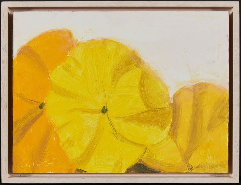 Alex Katz, 'Pansies', 2000, Painting, Oil on fibreboard, Van Ham