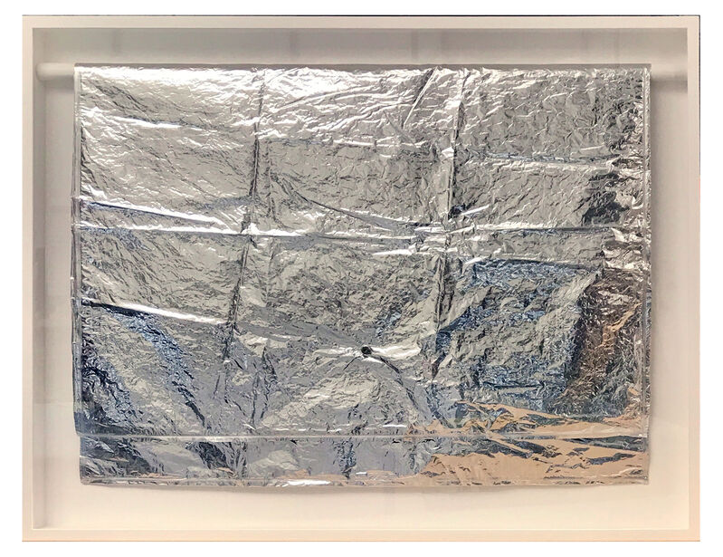 Andy Warhol, 'Silver Cloud,', 1968-1972, Sculpture, Silver mylar, re-inflatable tube and string, Carolina Nitsch Contemporary Art