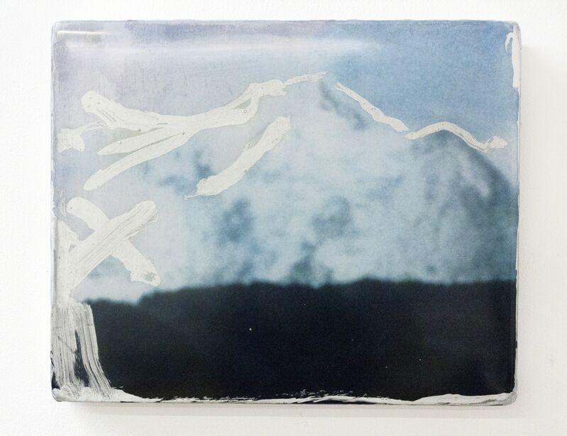 Thomas Bogaert, 'Silver Contour', 2014, Painting, Film still and resin on canvas, Goya Contemporary/Goya-Girl Press