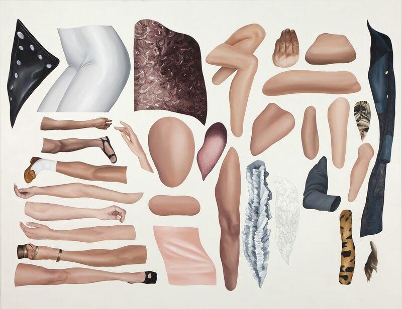 Eda Gecikmez, 'detection and conservation - teşhis ve muhafaza', 2015, Painting, Oil on canvas, Mixer