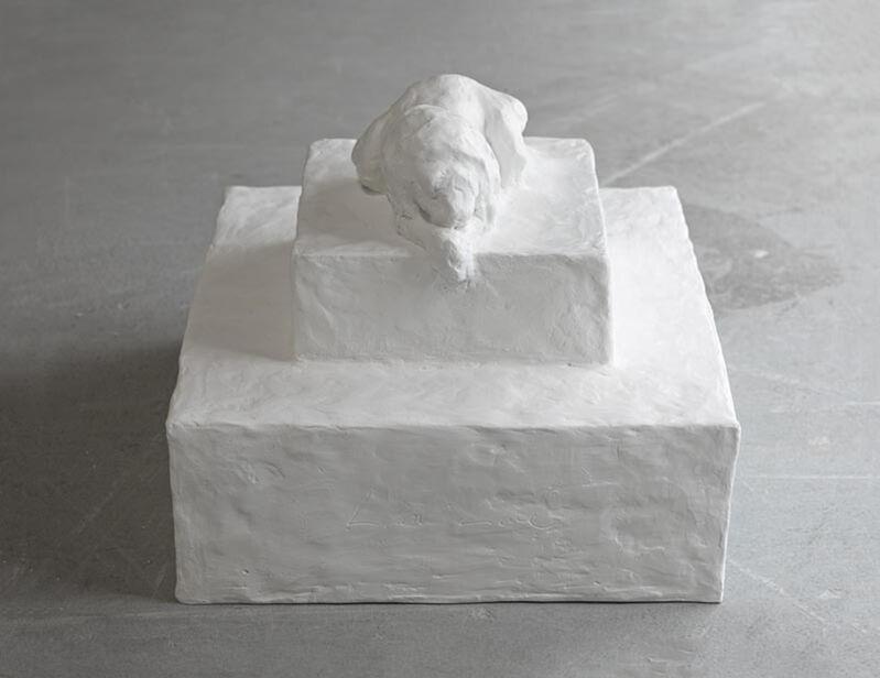 Tracey Emin, 'Lion Love', 2014, Sculpture, White patinated bronze, Carolina Nitsch Contemporary Art