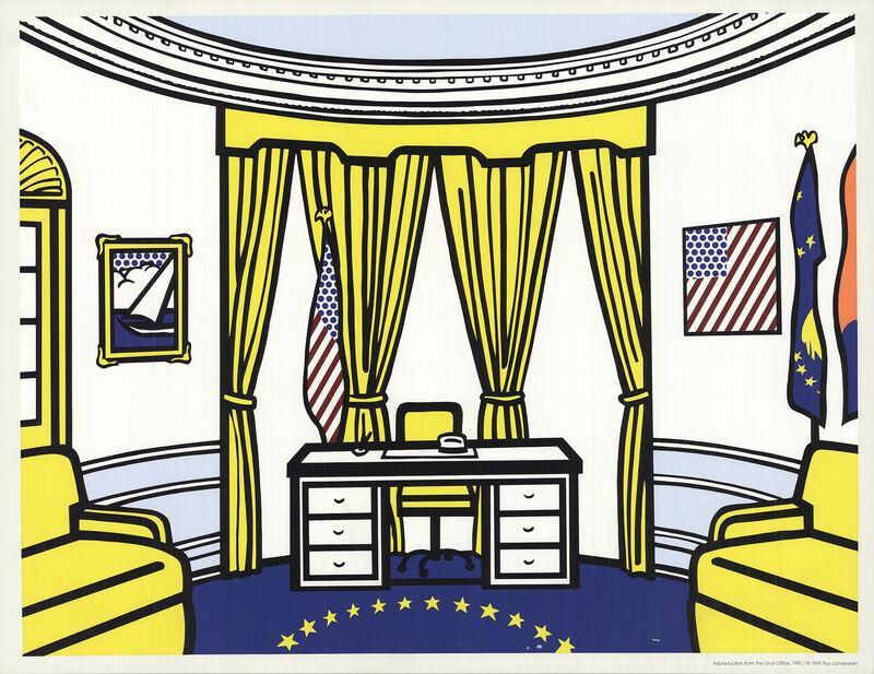 Roy Lichtenstein, 'The Oval Office', 1997, Ephemera or Merchandise, Serigraph, ArtWise