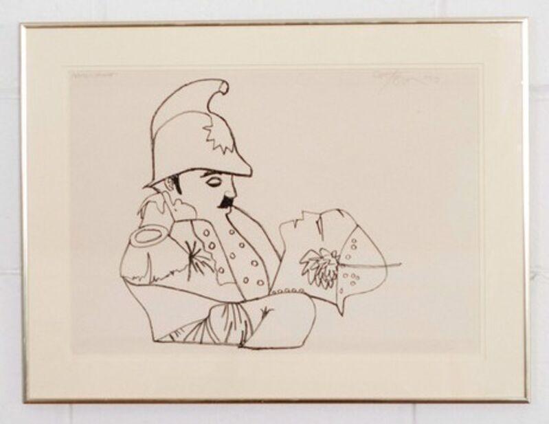 Harold Town, 'Charlie Chaplin', 1970, Print, Lithograph, Caviar20