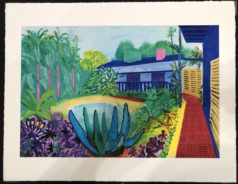 David Hockney, 'Garden, 2015', 2017, Print, Giclee on Paper, Mr & Mrs Clark's