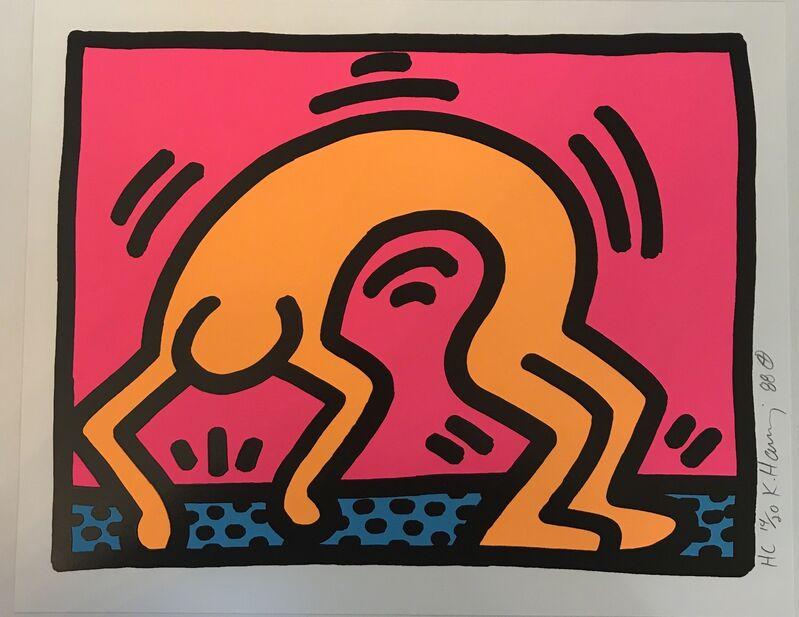 Keith Haring, 'Pop Shop II, (2)', 1988, Print, Screenprint in colors on wove paper, Fine Art Mia