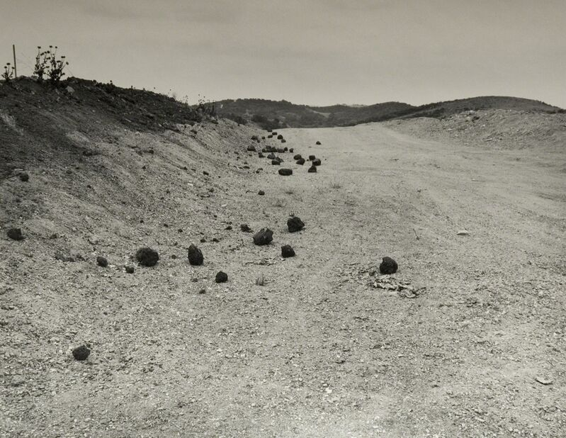 Joe Deal, 'Road Cut (Homage to Roger Fenton)', 1984, Photography, Vintage silver print, Robert Mann Gallery