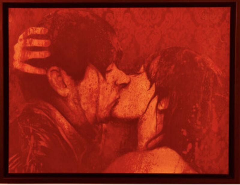 Carlos Prieto, 'Kiss I', 2021, Painting, Mixed media, Gallery Red