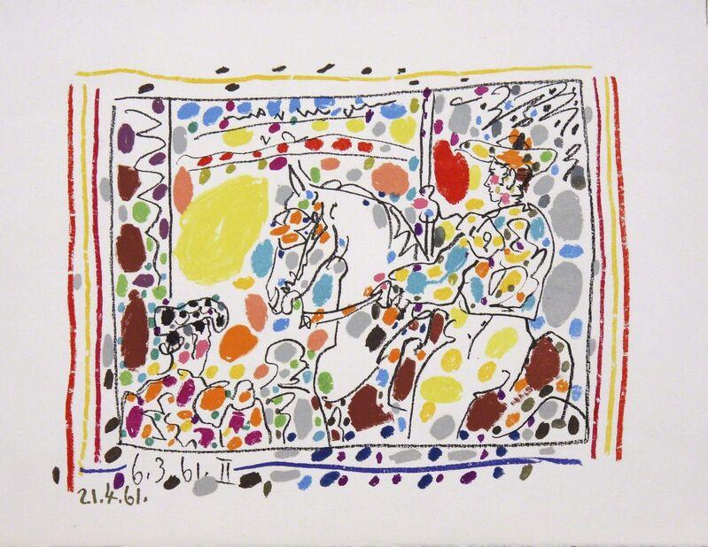 Pablo Picasso, 'Le Picador II', 1961, Print, Lithograph in 24 colors on Wove paper, michael lisi / contemporary art