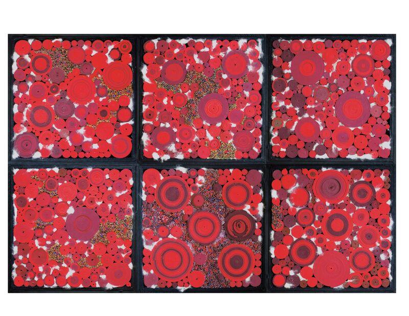 Steven and William Ladd, 'Shaboygen', 2012, Sculpture, Wood, metal, fiber, beads, pins, paper, tulle, Angora rabbit hair., Mingei International Museum