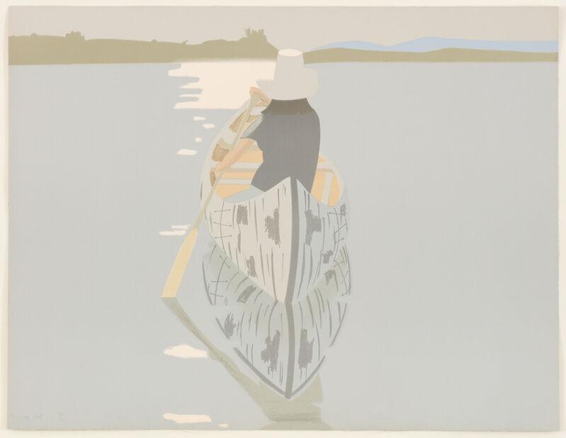 Alex Katz, 'Good Afternoon II (Grey Rowboat)', 1975, Print, Color Lithograph, Marlborough New York