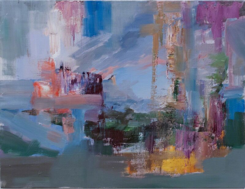 Adam Cvijanovic, 'Savage State (after Thomas Cole)', 2012, Painting, Oil on canvas, Postmasters Gallery