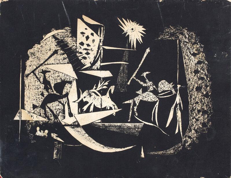Pablo Picasso, 'Picasso: Toreros by Jaime Sabater', 1961, Print, Book with four original litography, Bertolami Fine Arts