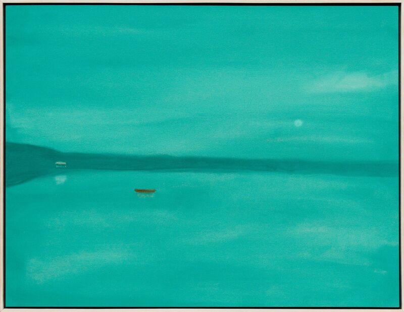 Pat Service, 'Still Lake - Wait', 2015, Painting, Acrylic on Canvas, Newzones
